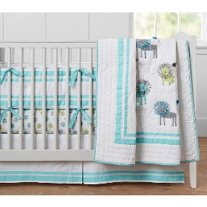 Harper Lion Baby Bedding | Pottery Barn Kids