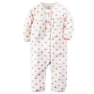 Baby Girl Fleece Jumpsuit | Carters.com