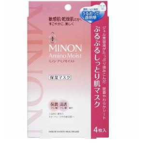 MINON Amino Moist Mask, 4pcs