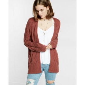 slouchy cable cover-up