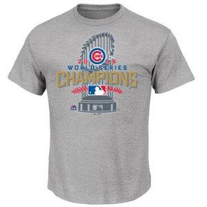 Chicago Cubs MLB Men's 2016 World Series Champ Locker Room T-Shirt