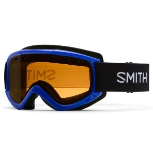 Smith Optics Cascade Men's Ski Goggles Cobalt Frame Gold Lite Lenses | Focus Camera