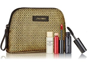 Free 4 Pcs Gift + Free Shipping with $60 Makeup Purchase @ Shiseido