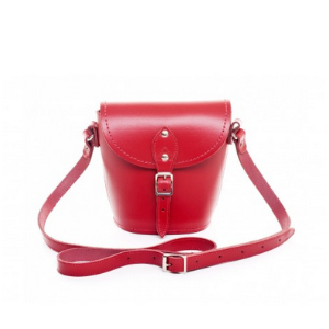 Unineed.com | ZATCHELS Red Leather Barrel Bag - Bags - Premium beauty and fashion from Unineed.com