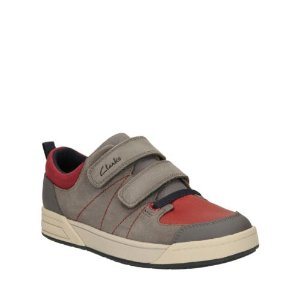 Topic Buzz Toddler Grey Combi Sde - Boys Shoes, Boots, and More - Clarks® Shoes Official Site