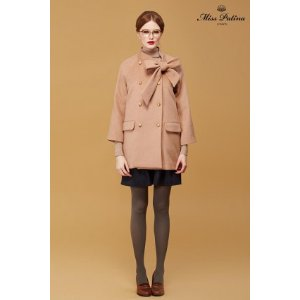Garance Coat (Camel) - Miss Patina - Vintage Inspired Fashion