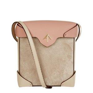 Manu Atelier Mini Pristine Box Combo Shoulder Bag