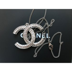 silver Crystal CHANEL Pendant - Vestiaire Collective