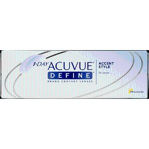 Contact Lenses - Hassle Free & Quick Shipping - 1 Day Acuvue Define (Accent Style)