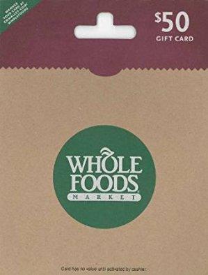 $40会员提前闪购预告!设好小闹表!价值$50 Whole Foods Market礼卡