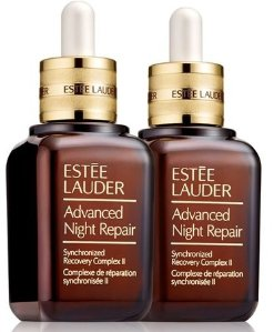 Receive  Free 13-PC Gift with purchase of a 1.7 oz. Advanced Night Repair face serum