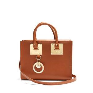 Sophie Hulme Medium Albion box leather bag