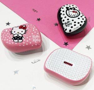 $20! 超萌梳子!Hello Kitty x Tangle Teezer 美发梳热卖