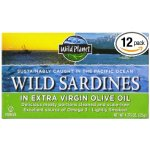 Wild Planet Wild Sardines in Extra Virgin Olive Oil, Lightly Smoked (Pack of 12)
