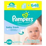 Prime Member Only, Big Sale Pampers Baby Wipes @ Amazon.com