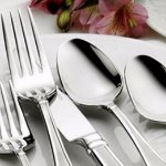 on Sets of Four of Fine and Casual Flatware @ Oneida