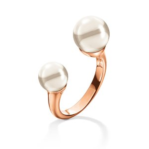 GRACE RING Rose Gold Plated -