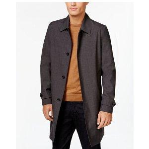 MICHAEL Michael Kors Men's Franklin Single-Breasted Raincoat - Coats & Jackets - Men - Macy's