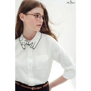 Love Cat Shirt (White) - Miss Patina - Vintage Inspired Fashion