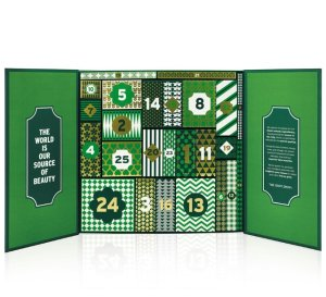 $60(Value $181) Cheeky Surprises Advent Calendar @ The Body Shop