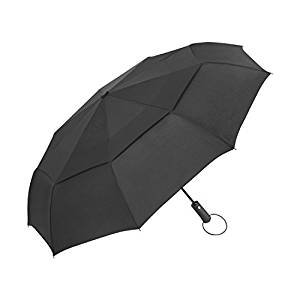 $9.99 Windproof Compact Umbrella with Double Canopy Construction