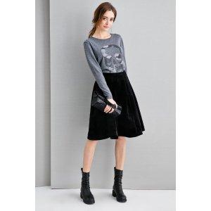 Viva La Velvet Skirt SK0120