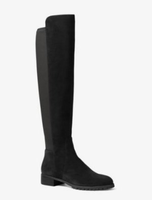 MICHAEL MICHAEL KORS  Joanie Over-The-Knee Suede Boot