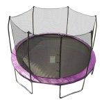 Skywalker Trampolines 12' Round Trampoline and Safety Enclosure - Purple