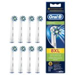 Oral-B CrossAction Electric Toothbrush Replacement Heads - 8 Counts