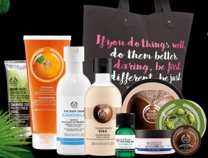 $35(Value $145) BEST OF THE BODY SHOP TOTE BAG @ The Body Shop