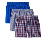 Beverly Hills Polo Club Men's 3 Pack Woven Boxer