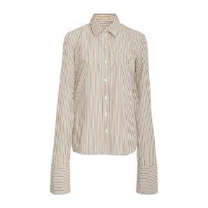 French Cuff Cotton Poplin Shirt by Michael Kors