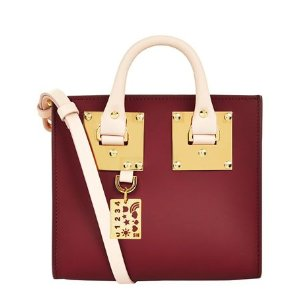 Sophie Hulme Small Albion Box Tote Cross Body Bag