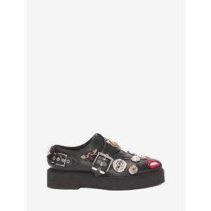 Platform Monk Strap Shoe | Alexander McQueen
