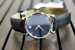 $189 MOVADO Classic Museum Dark Navy Dial Men's Watch 2100007