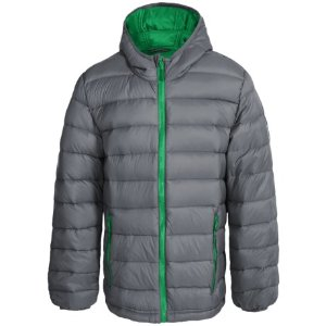 Weatherproof Packable Down Hooded Jacket (For Little and Big Boys) - Save 76%