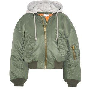 VETEMENTS Shell hooded bomber jacket