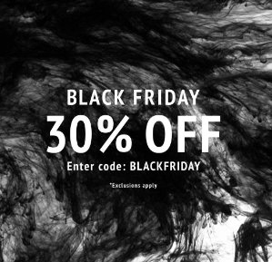 Black Friday 30% Off Sale @ Coggles