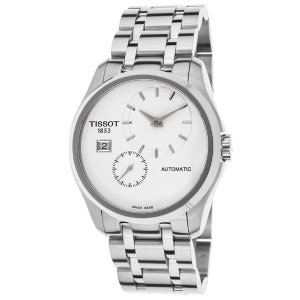 Tissot Men's Couturier Automatic Stainless Steel Silver-Tone Dial SS | World of Watches