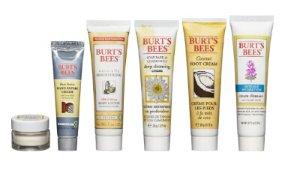 $9.5 Burts Bees Fabulous Mini's Travel Set, 6 Travel Size Products