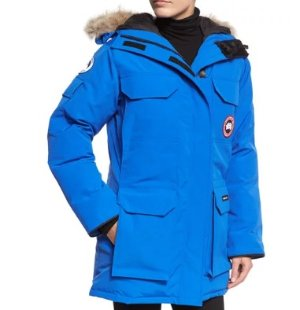 Extended 1 Day! $1050 + $300 Gift Card Canada Goose PBI Expedition Hooded Parka, Royal Blue @ Neiman Marcus