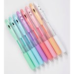 Zebra Sarasa Clip 0.5mm Ballpoint Pen, 8 Color Set