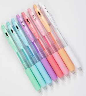 $8.49Zebra Sarasa Clip 0.5mm Ballpoint Pen, 8 Color Set