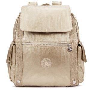 Gideon Large Metallic Backpack
