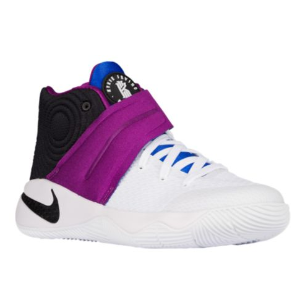 Nike Kyrie 2 - Boys' Grade School - Basketball - Shoes - Irving, Kyrie - White/Black/Bold Berry/Lyon Blue
