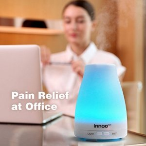 Innoo Tech Oil Diffuser with 7 Changing Color LED Lights