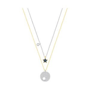 Crystal Wishes Star Pendant Set, Blue - Jewelry - Swarovski Online Shop
