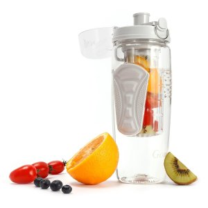 Large 32oz Fruit Infused Water Bottle - BPA-Free