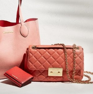 Up to 50% Off MICHAEL MICHAEL KORS Quilted Handbags Sale @ Michael Kors