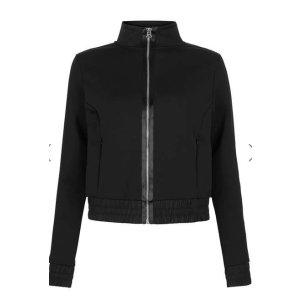 Satin Zip Through Jacket by Ivy Park